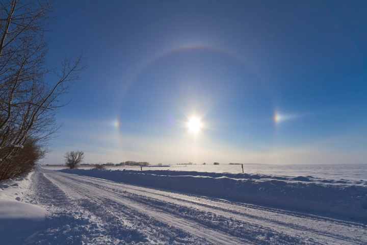 Solar Halo (January 30, 2011)